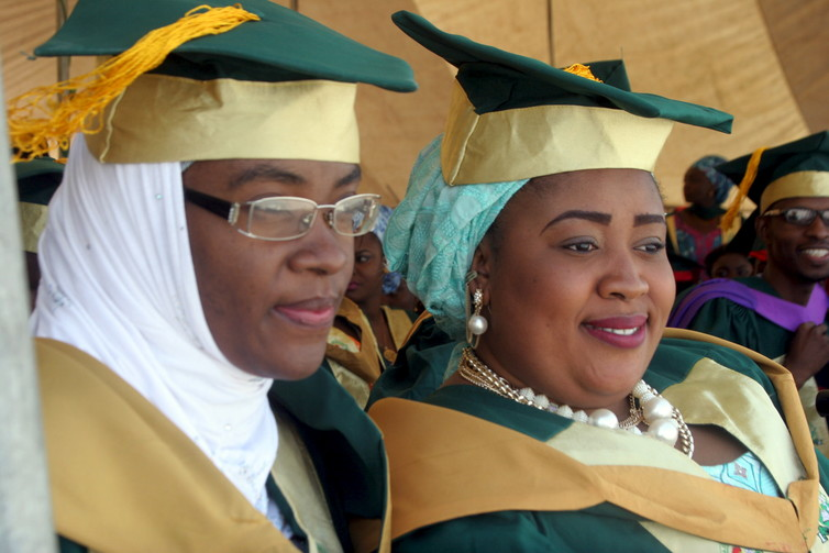 Women with degrees are often hidden in migration statistics. Credit: Reuters