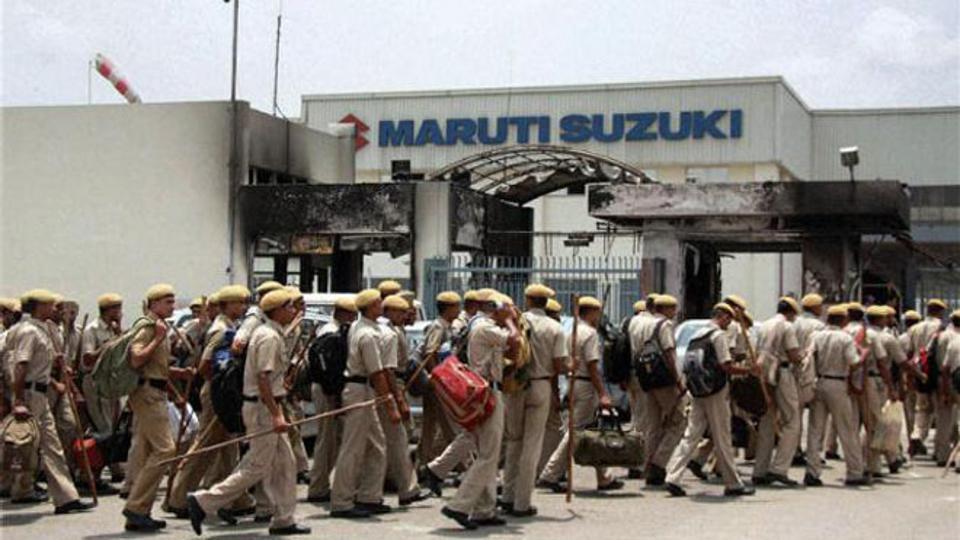 The Maruti Suzuki plant in Manesar. Credit: PTi