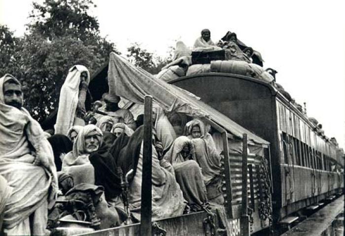A refugee train, Punjab, 1947. Credit: Wikimedia