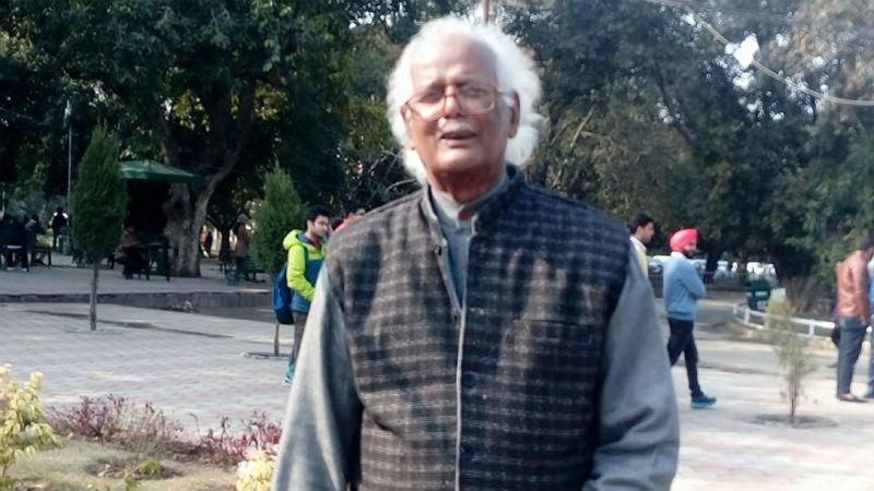 Chauthi Ram Yadav, a professor at Banaras Hindu University. Credit: Facebook