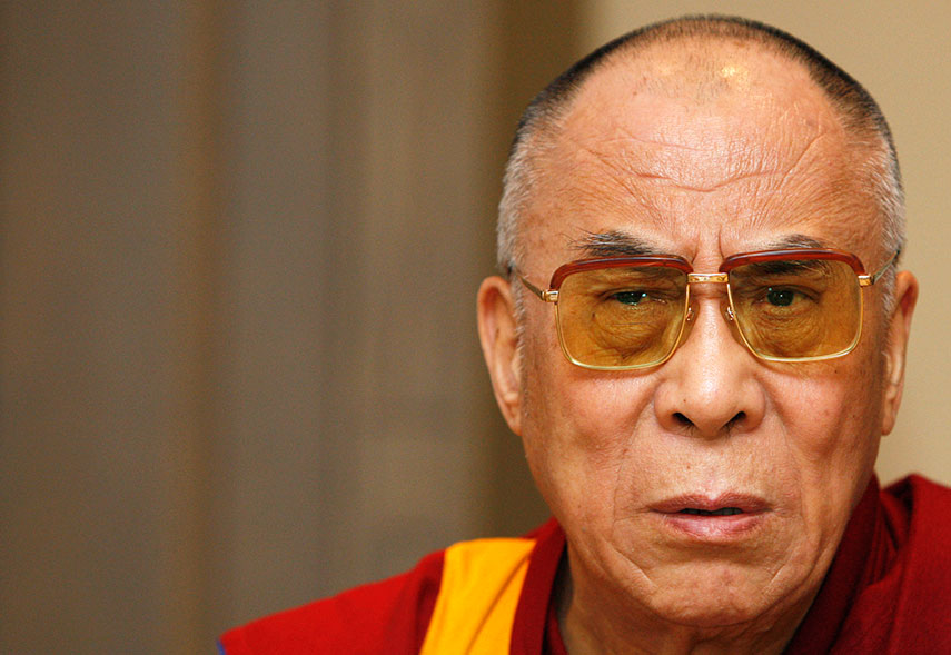 The issue of the Dalai Lama's reincarnation is bound to affect Sino-Indian relations. Credit: Reuters/Files