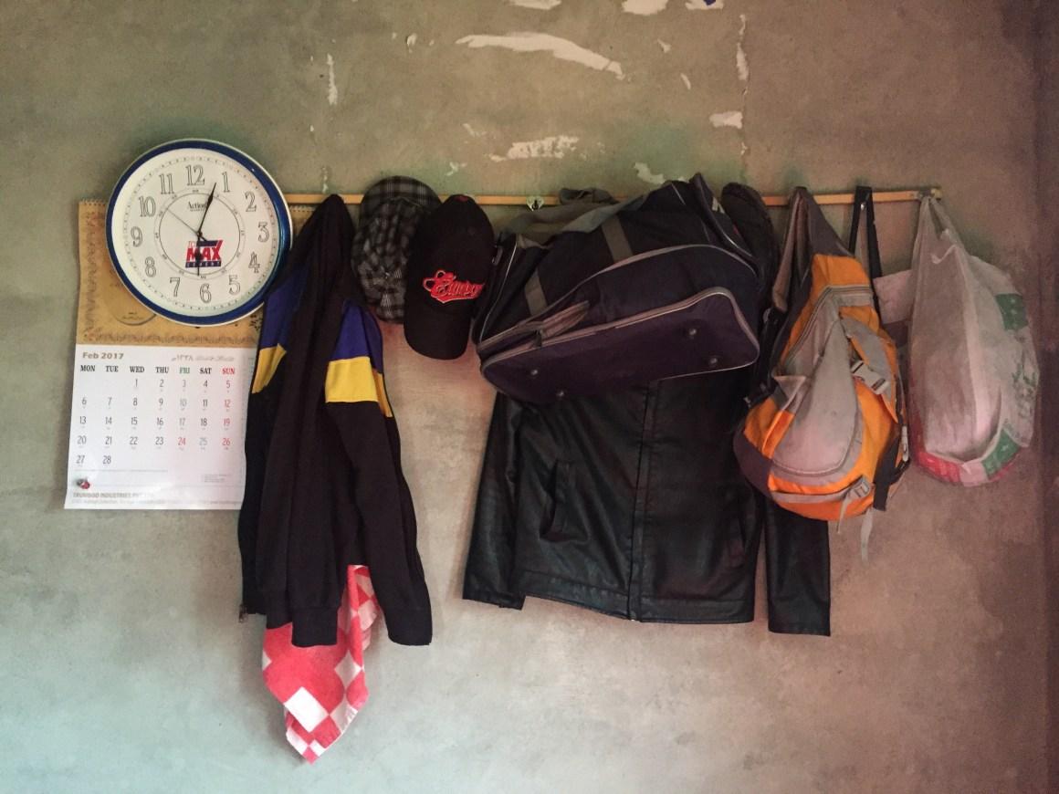 Ishfaq's clothes and other belongings. Credit: Sheikh Saaliq