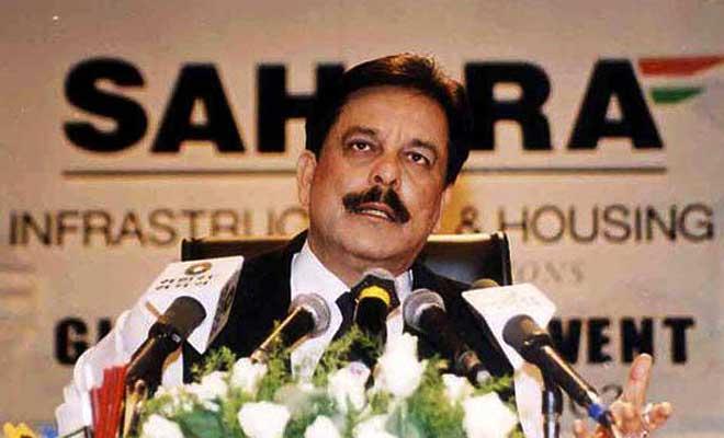 Sahara Group chairman Subrata Roy. Credit: PTI