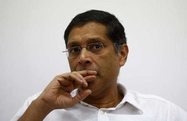 Chief Economic Adviser Arvind Subramanian. Credit: Reuters