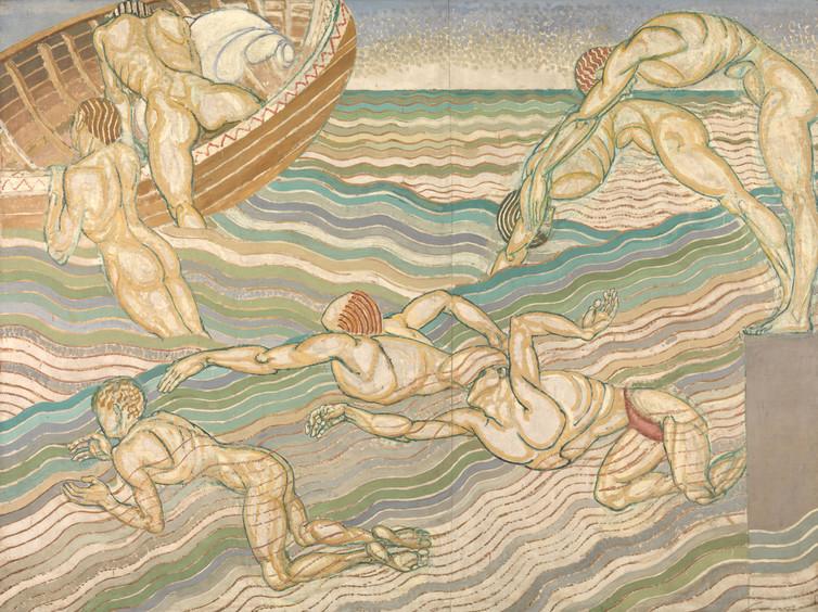Duncan Grant, Bathing, 1911. Credit: Tate via The Conversation