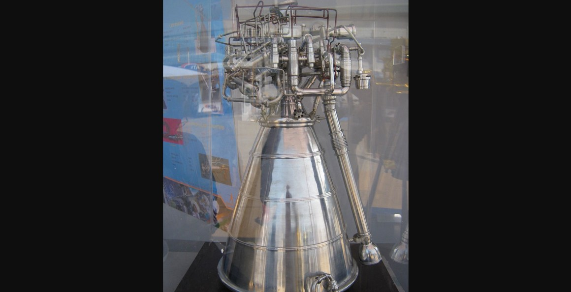 The CE 20 cryogenic engine. Credit: Wikimedia Commons, CC BY-SA 3.0