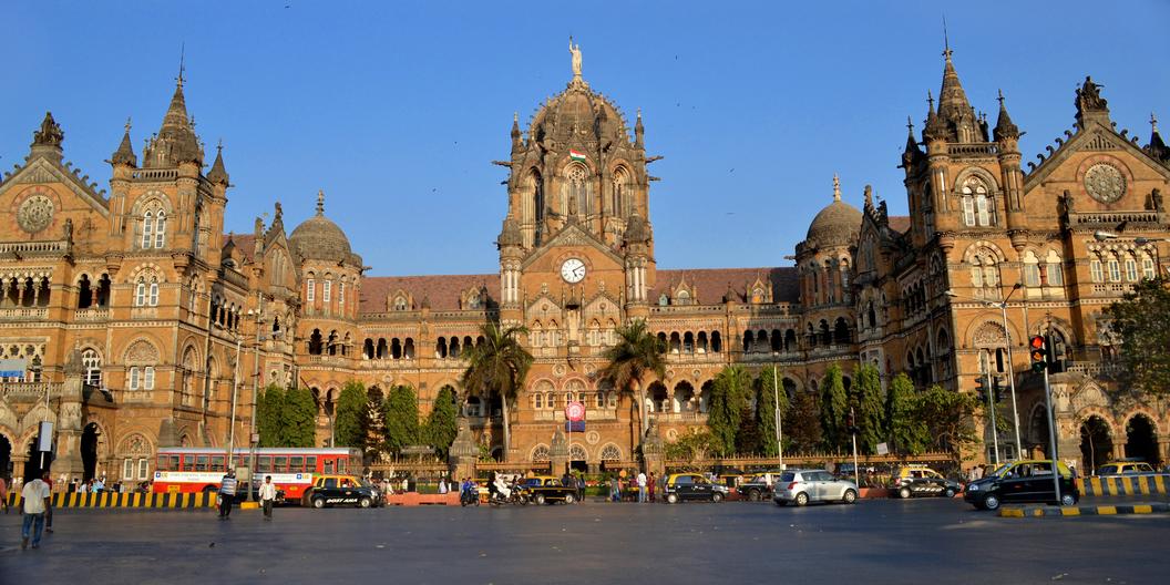 The Chhatrapati Shivaji Terminus. Credit: Wikimedia Commons.