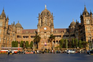 The Chhatrapati Shivaji Terminus. Credit: Wikimedia Commons.