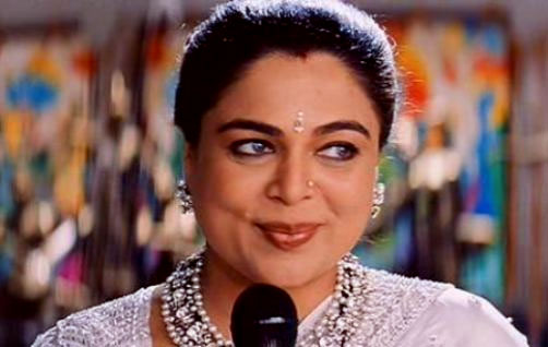 Reema Lagoo in a still from <em>Kuch Kuch Hota Hai</em>.
