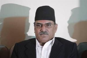 Nepal Prime Minister Prachanda led government received a blow after its coalition partner the RPP decided to withdraw its support. Credit: Reuters