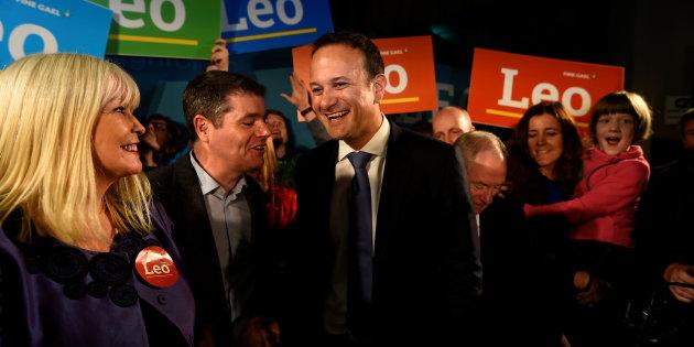 Social Protection Leo Varadkar launches his campaign bid for Fine Gael party leader in Dublin, Ireland May 20, 2017. Credit: Reuters/Clodagh Kilcoyne