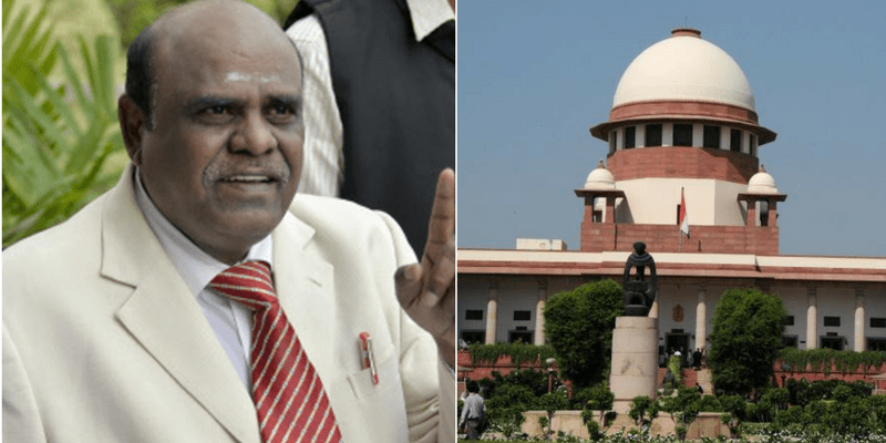Justice Karnan was recently sentenced to six-months in jail for contempt of court. Credit: PTI