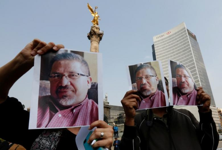 Funeral for slain Mexican reporter amid demands for justice