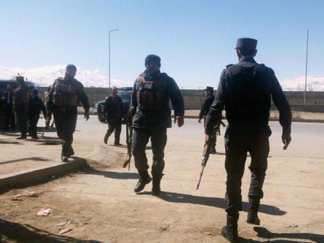 Representative image of police in Kabul. Credit: Reuters