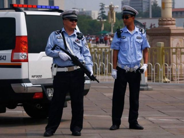 Representative image of police in China. Credit: Reuters