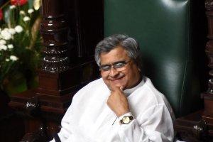Karnataka assembly Speaker K B Koliwad. Credit: Twitter
