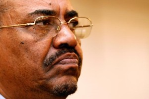 Sudanese President Omar Hassan al-Bashir addresses a news conference in Cape Town, South Africa, November 7, 2007. Credit: Reuters/Mike Hutchings/Files