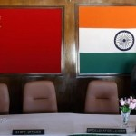 A man walks inside a conference room used for meetings between military commanders of China and India, at the Indian side of the Indo-China border at Bumla, in Arunachal Pradesh, November 11, 2009. Credit: Reuters/Adnan Abidi/Files