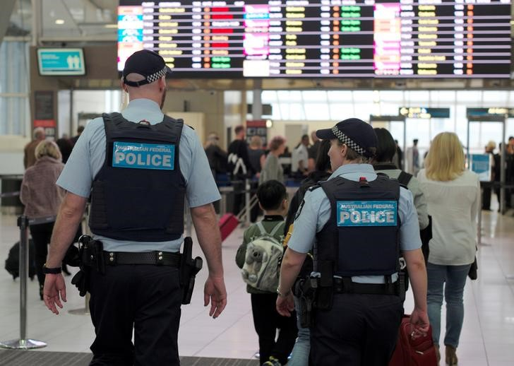 Australian authorities arrest 4 in alleged airplane terrorist plot