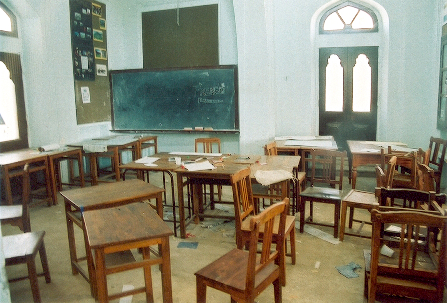 A classroom in Mayo College, Ajmer. Credit: endymion120/Flickr, CC BY 2.0