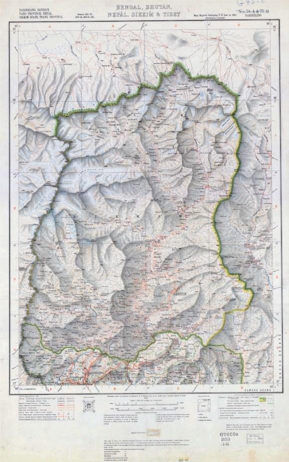3. British map of 1923