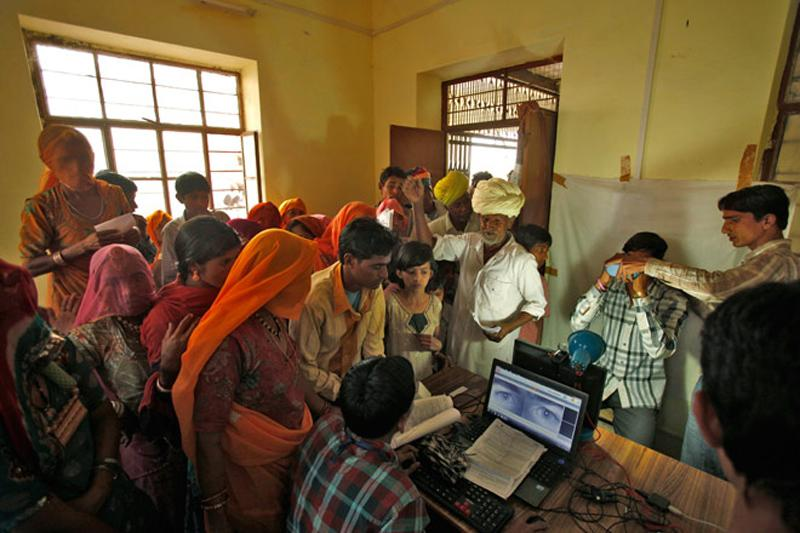 What sets Aadhaar apart from other kinds of ID is that our biometric and demographic data are being stored in a centralised database. Credit: Reuters
