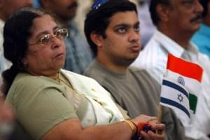 Members of the Indian Jewish community. Credit: Reuters/Arko Datta