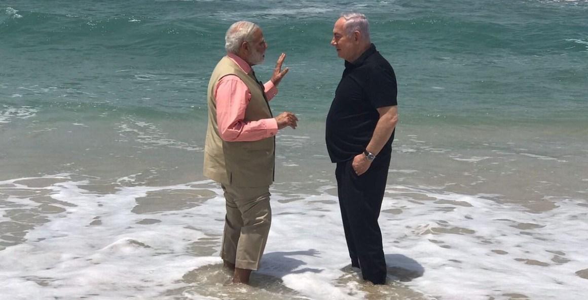 Narendra Modi, Netanyahu