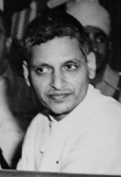 Nathuram Godse. Credit: Wikipedia