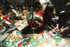 The Peace Now and Forever Campaign Between India and Pakistan was launched simultaneously in both countries on July 1. Credit: Reuters