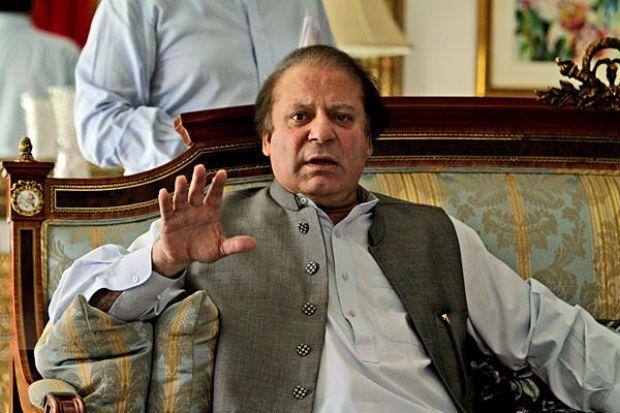 Pakistan's Prime Minister Nawaz Sharif. Credit: PTI