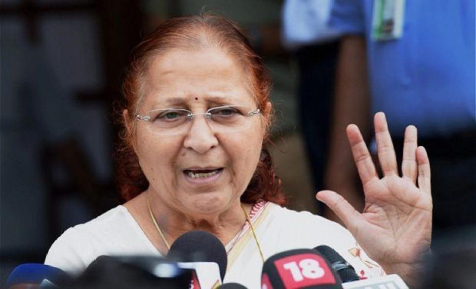 Lok Sabha Speaker Sumitra Mahajan. Credit: PTI