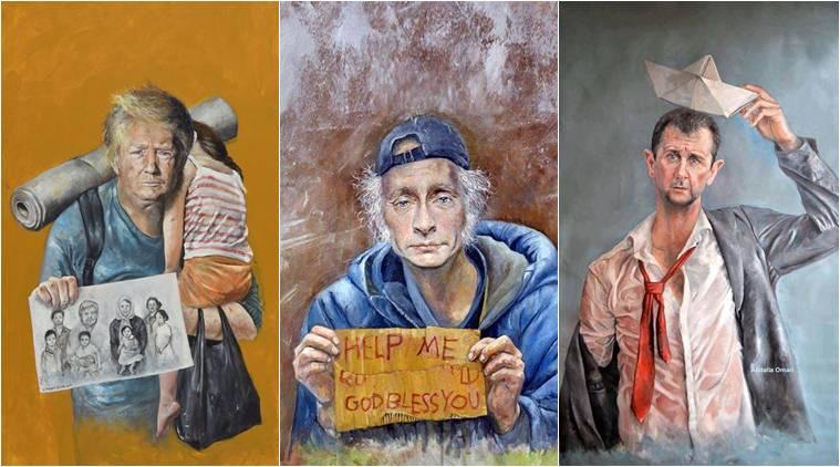 Abdalla Al Omari's 'The Vulnerability Series'. Credit: Facebook.