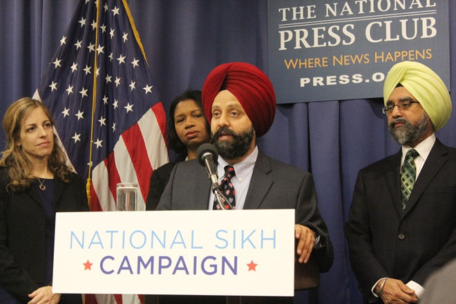 National Sikh Campaign. Credit: Reuters