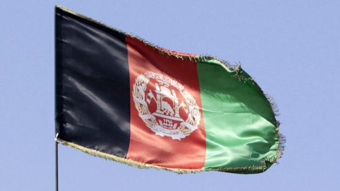 An Afghanistan flag. Credit: Reuters/Erik De Castro