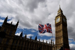 The Union Flag flies near the Houses of Parliament in London, Britain, June 7, 2017. Credit: Reuters/Clodagh Kilcoyne
