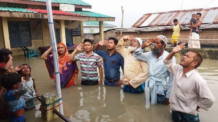 Assam floods independence day