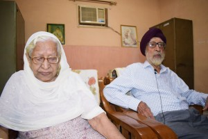 Gurbachan Kaur and Ajit Singh
