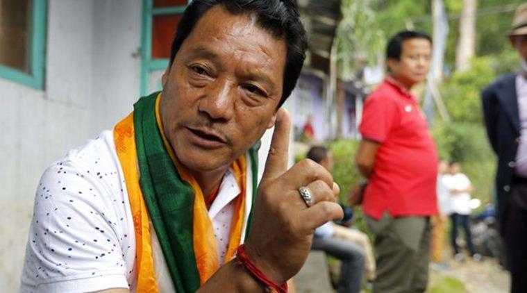 GJM chief Bimal Gurung. Credit: PTI/Files