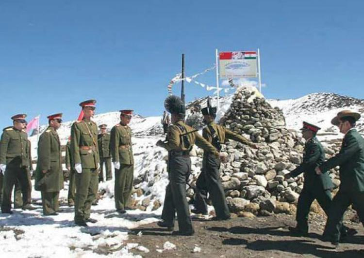 Chinese soldiers are said to have attempted to cross the LAC near Pangong lake on August 15. Credit: PTI