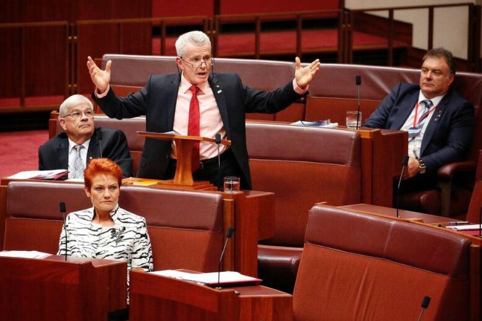 Australian senator Malcolm Roberts. Credit: Reuters