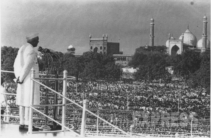 Image result for red fort 1947