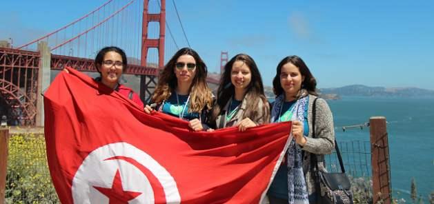 Young Tunisian women. Credit: UN Women