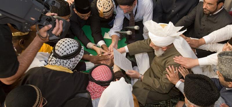 Members of Algeria's Ahmadi community. Credit: Twitter/@hrw