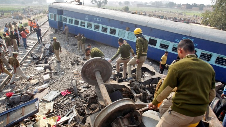 More than 20 million people in India use the railway network each day. Credit: Reuters