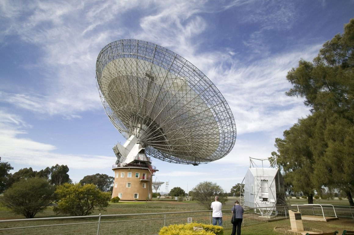 The Parkes Observatory, New South Wales. Credit: CSIRO/Wikimedia Commons, CC BY 3.0