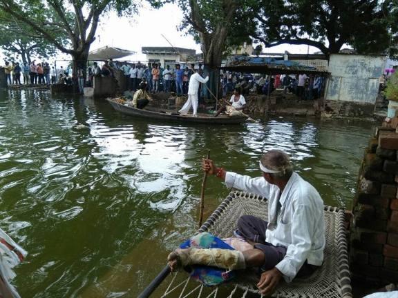 Mohan bhai, from the Imli bazaar area in Nisarpur village. Courtesy: Narmada Bachao Andolan