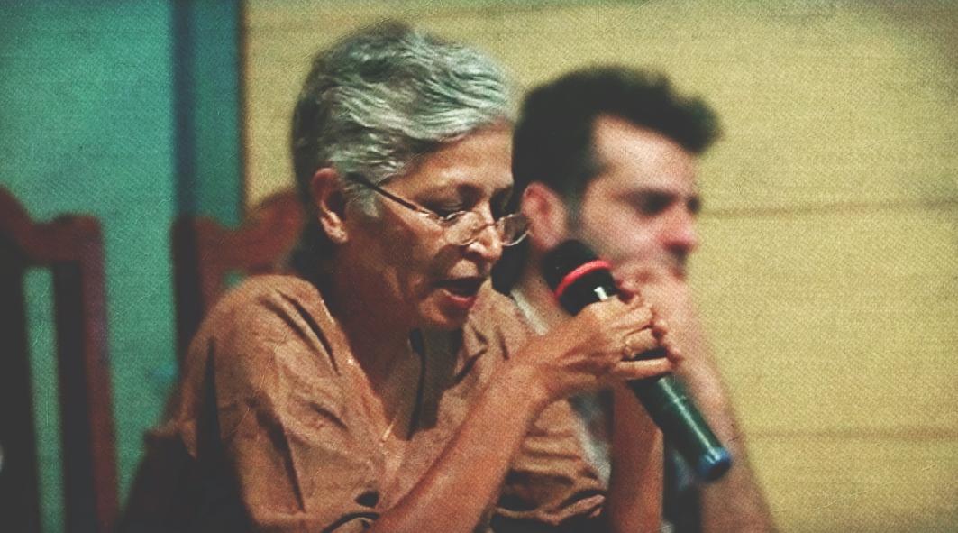 Gauri Lankesh. Credit: Facebook