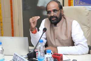 Minister of state for home affairs Hansraj Gangaram Ahir. Credit: PTI