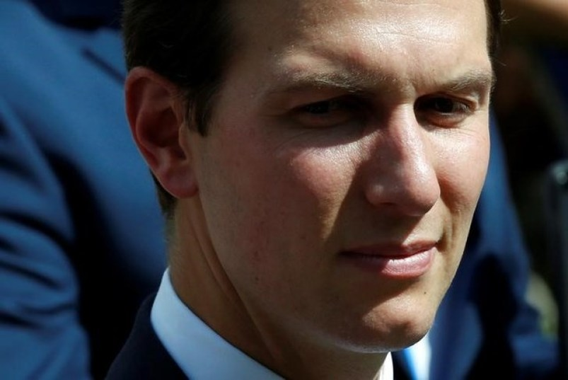 Senior advisor Jared Kushner waits for a joint news conference by U.S. President Donald Trump and Lebanese Prime Minister Saad Hariri at the White House in Washington, U.S., July 25, 2017. Credit: Reuters